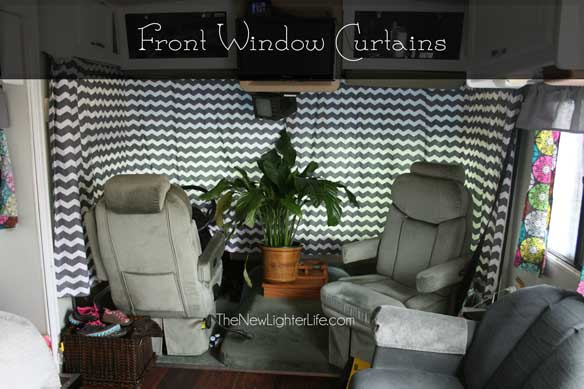 Rv Front Window Curtains Trailer Window Curtains