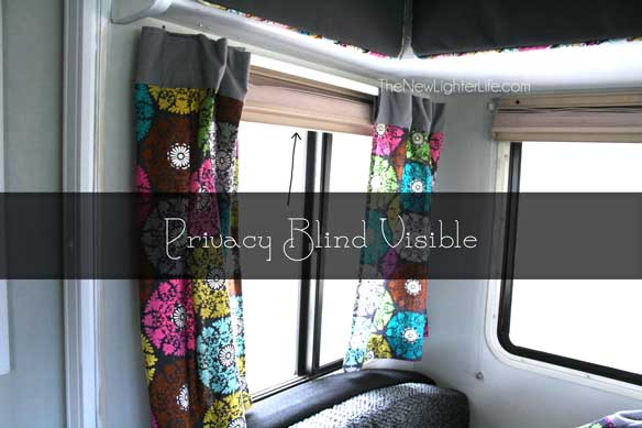 Rv window treatments the new lighter life