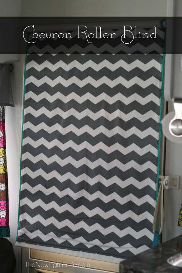 chevron-covered-roller-blind
