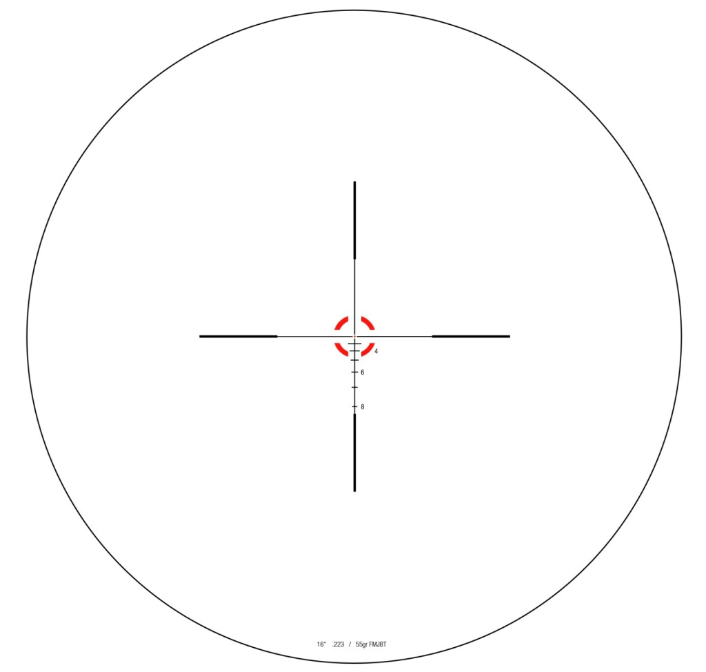 trijicon RS24 reticle