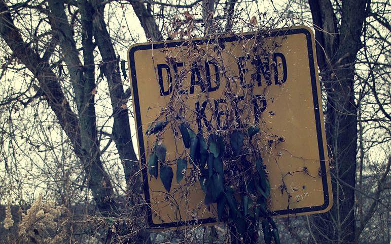 771px-Dead_End,_Keep_Left_(Brackenridge,_PA)_(5291131608)
