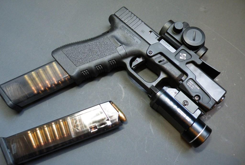 glockkraft Tactical streamlight ALG defense