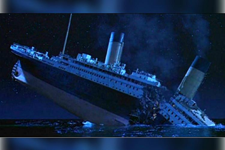Did an iceberg sink the Titanic  A journalist s new evidence says     Screenshot from Titanic  1997  via Wikimedia Commons