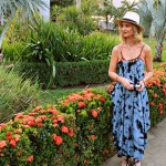 Beach Vibes: tie-dye dress and coverup