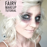 HALLOWEEN MAKEUP TUTORIAL - TWISTED FAIRY