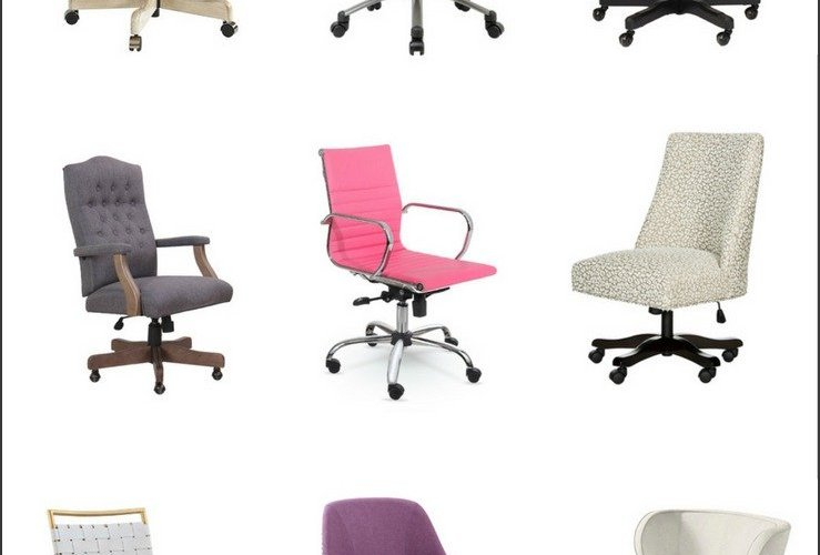 9 Pretty + Practical Desk Chairs Your Bum Will Love