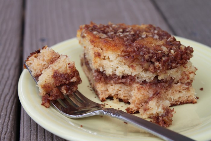 Paleo Sugar Free Blueberry Coffee Cake