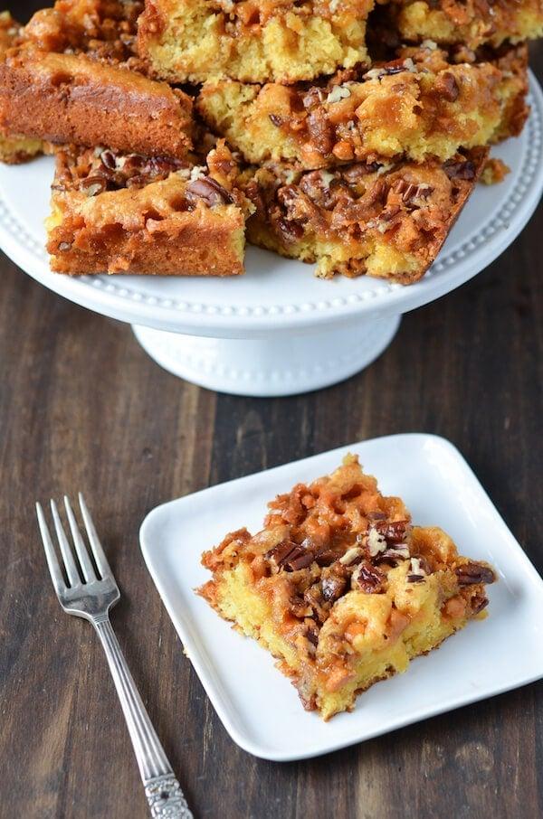 Paleo Hornets Nest Cake