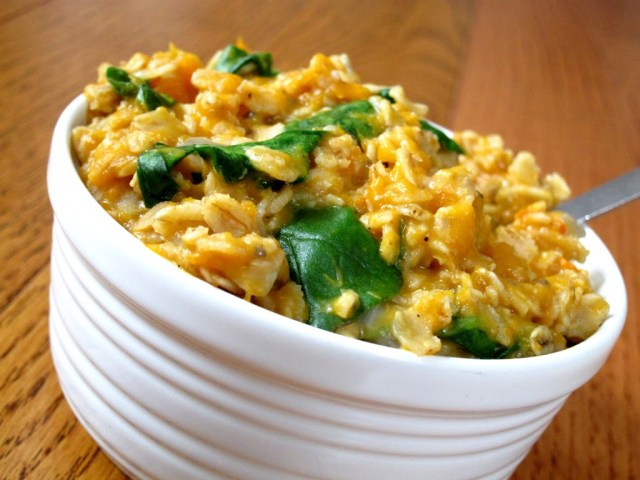 butternut-squash-and-greens-oatmeal-8-