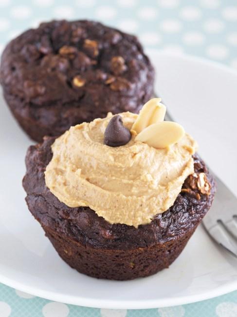 ChocolateBananaPBMuffins1