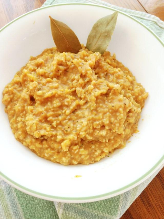 Curried pumpkin basil oats 2