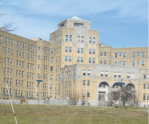 Photo by Ron LeirFormer hospital may be converted to housing.