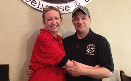 Co-owners Eileen and Michael Cassano