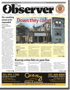 This week's front page.