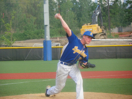 Senior right-hander Max Hart was brilliant for six innings, allowing just three hits, but tired in the seventh inning. Hart didn't figure in the decision in Lyndhurst's big 8-7 win over Garfield to win the NJSIAA North 2, Group II sectional title, the school's first since 2008.