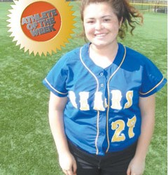 Photo by Jim Hague Lyndhurst senior pitcher Jenn Tellefsen.
