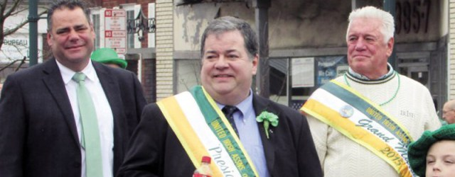 Kevin Quinn, c., president of the United Irish Associations of West Hudson