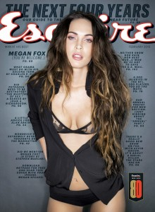 Megan Fox tells Esquire Magazine that she believes in Bigfoot, Leprechauns and the Loch Ness Monster