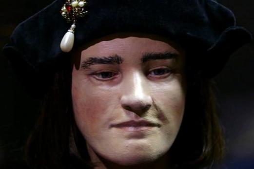 Face of King Richard III