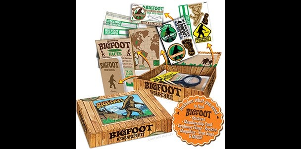 Bigfoot Research Kit for sasquatch hunting