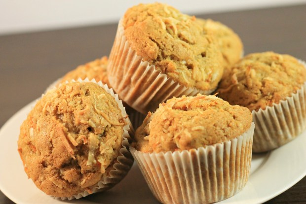 Carrot-Coconut-Muffin