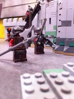 Uruk-Hai in the Battle of Helm's Deep LEGO Set