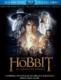 A fan's version of The Hobbit's Blu-ray cover.