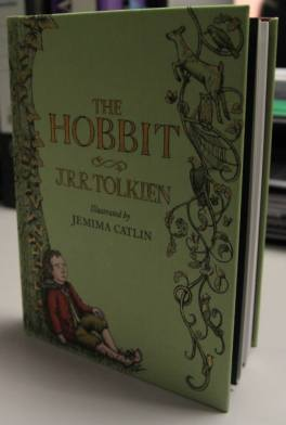 The Hobbit illustrated by Jemima Caitlin