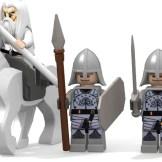 Minas Tirith good minifigures done second half