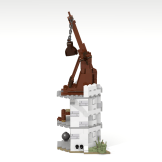 Minas Tirith update library tower side