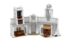 New Minas Tirith inner left wall back