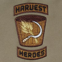Harvest Heroes Embroidery Design