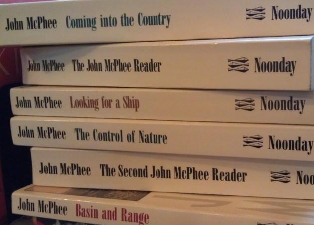 McPhee books