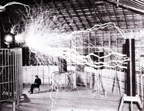 Tesla lightning