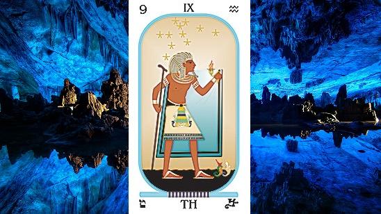 Arcanum IX. The Hermit (The Sage)
