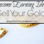 Income Earning Idea: Sell Your Gold