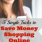 5 Simple Tricks to Save Money Shopping Online