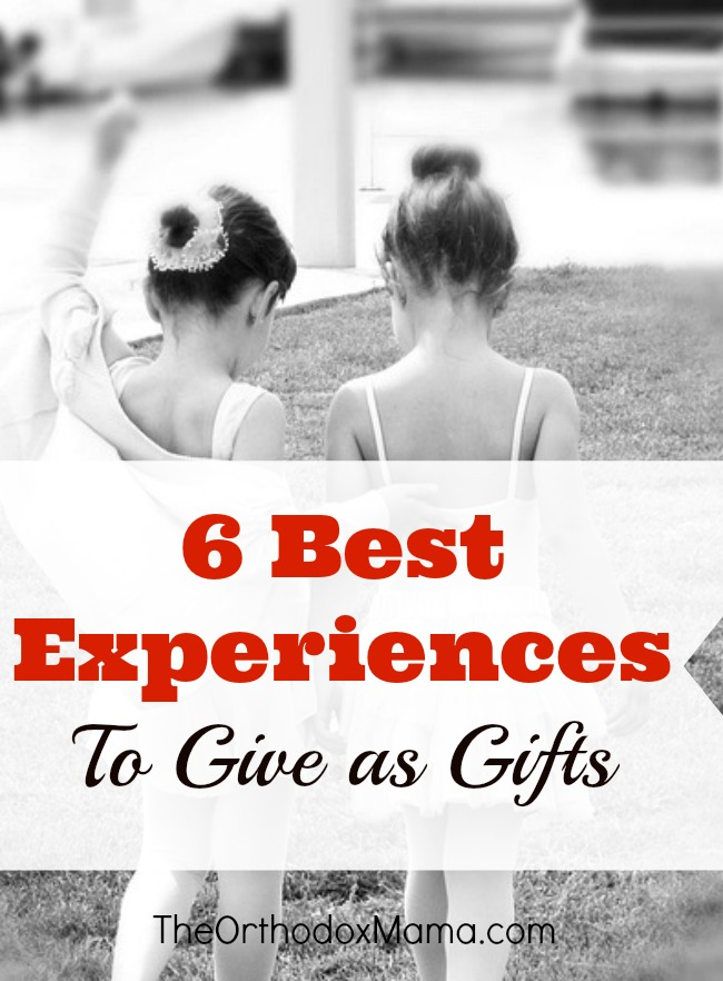 6 Best Experiences to Give as Gifts