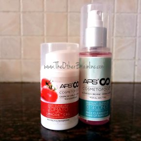 APS Cosmetofood Gaspacho Vitality Serum & Activated Spring Water Review
