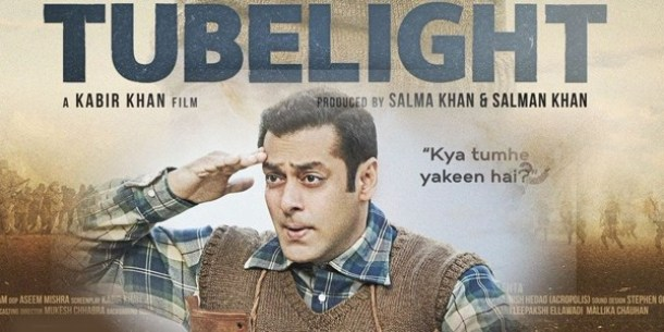 Bollywood's year 2017 - Tubelight film poster- www.TheOtherBraininc.com