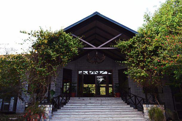 Dikhala Restaurant at Aahana Resort in Jim Corbett National Park
