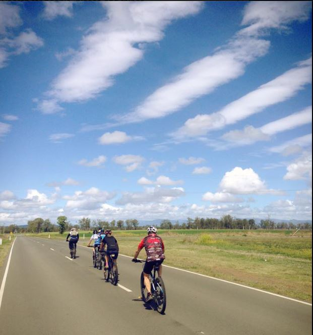 What a day for a ride. Spring in Southeast Queensland is a delight.
