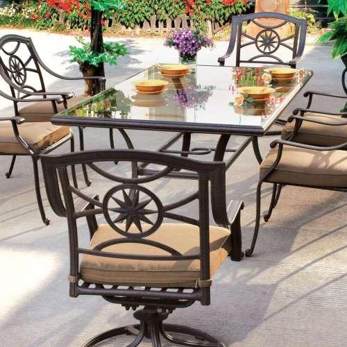 Medium Of Patio Dining Table