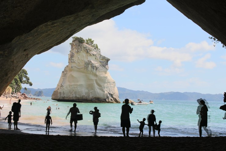 IMG_4791The cave to Te Hoho Rock, Cathedral Cove