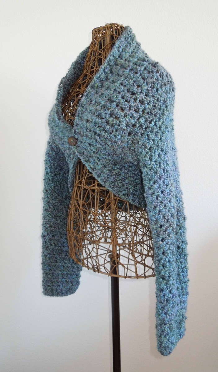 No Seam Crochet Shrug Pattern