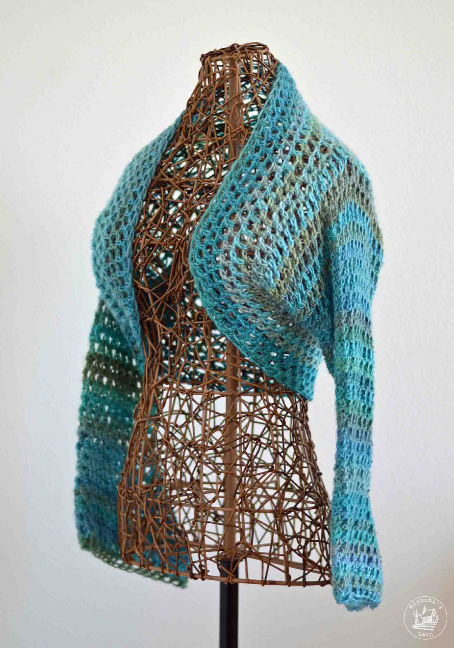 Crochet Shrug Pattern : Lightweight No Seam Shrug Free Crochet Pattern