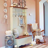 Shabby Chic Fall Entryway Bench 2014