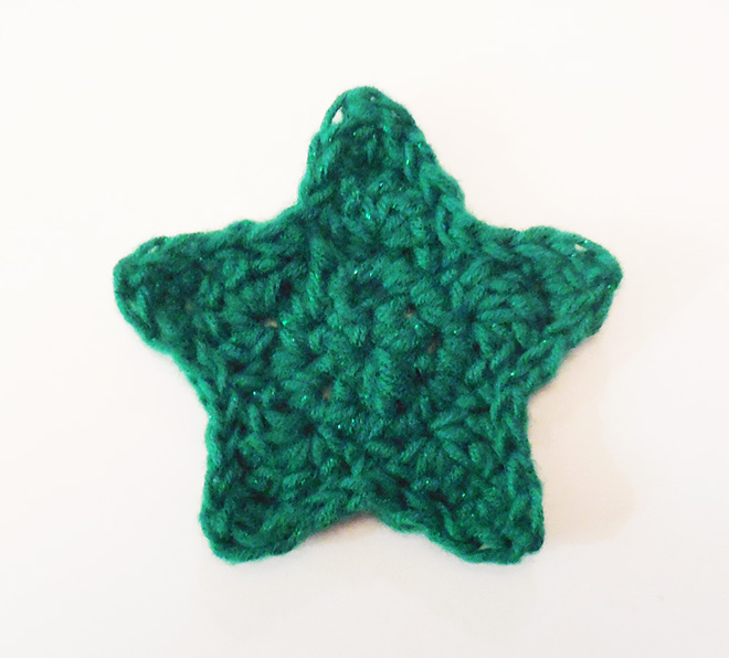 Free Crochet Pattern Christmas Star : Christmas Star Ornament Free Crochet Pattern