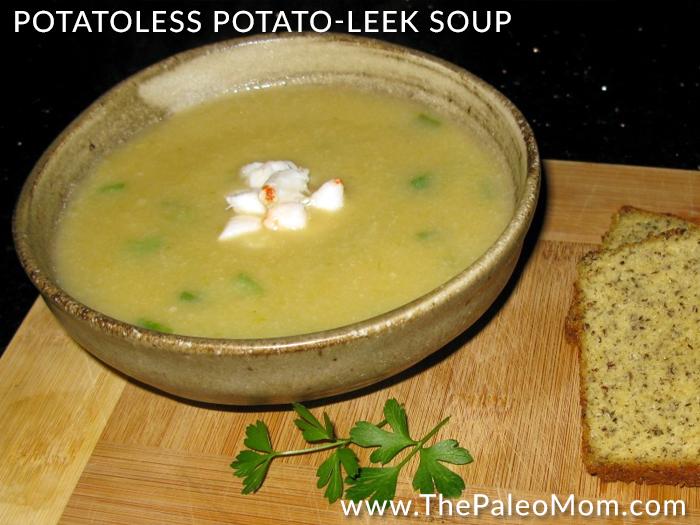 Paleo Meaty Potato Leek Soup