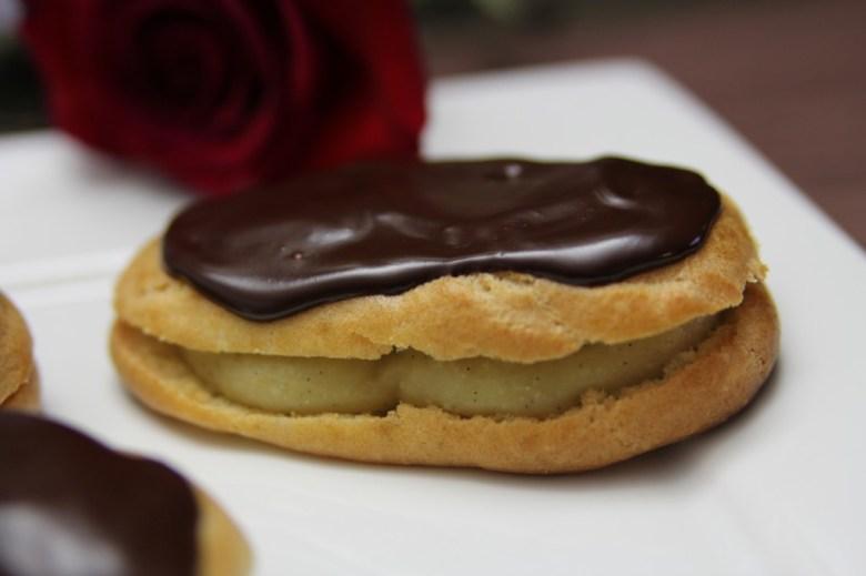 Paleo Chocolate Eclair Torte